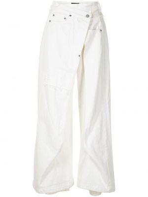 Белые брюки с карманами Undercover