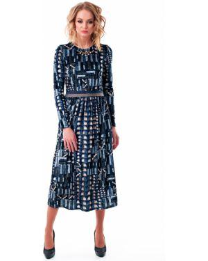 Платье с поясом со складками платье-сарафан Wisell