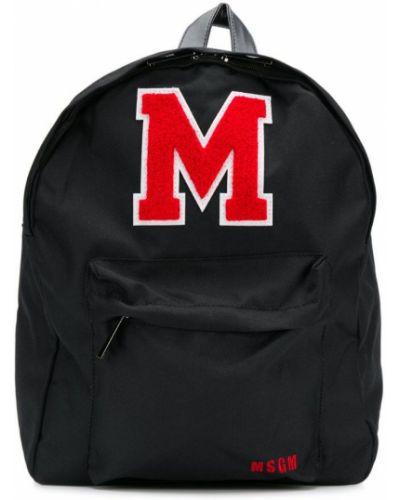 Рюкзак черный Msgm Kids