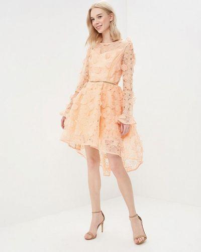 Оранжевое вечернее платье True Decadence