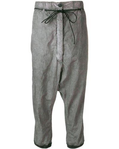 Укороченные брюки - серые Rundholz