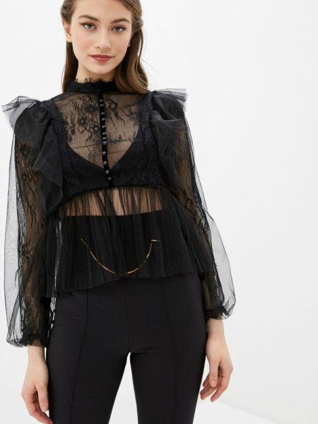 Блузка - черная Marissimo