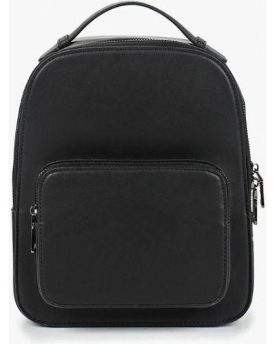 Рюкзак черный из искусственной кожи Ors Oro