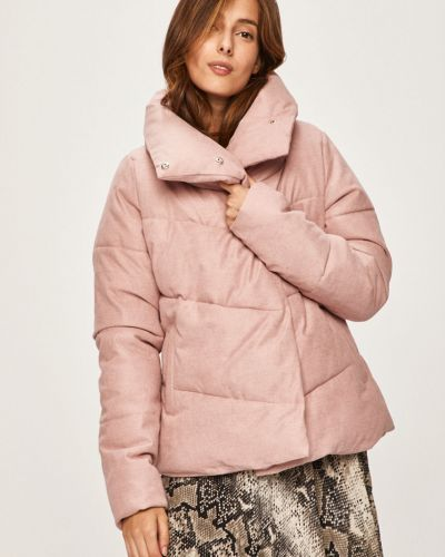 Стеганая куртка укороченная с карманами Answear