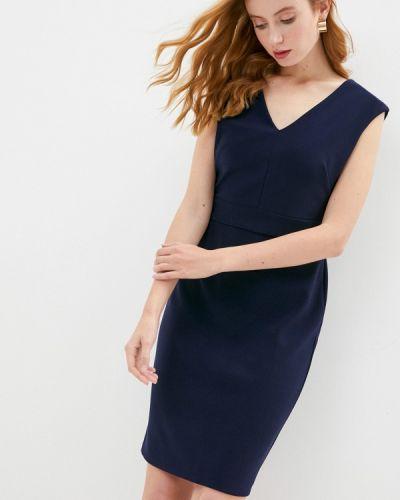 Синее платье-футляр Lauren Ralph Lauren