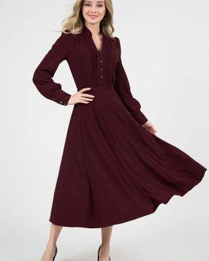 Повседневное платье бордовый красный Marichuell