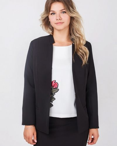 Черный пиджак Zubrytskaya