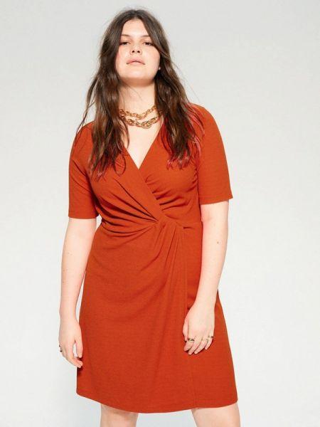 Платье прямое весеннее Violeta By Mango