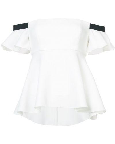 Блузка с открытыми плечами спущенная расклешенная Rachel Zoe
