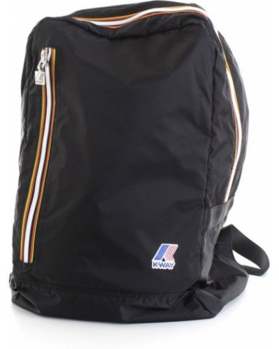 Czarny plecak sportowy K-way