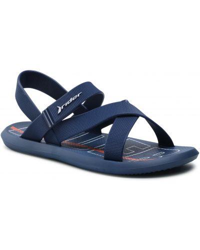 Niebieskie sandały na lato Rider