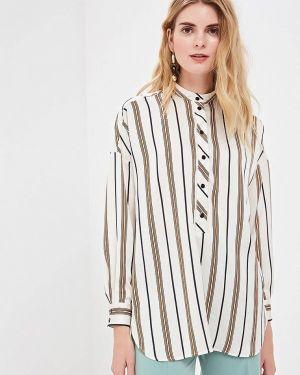 Блузка с длинным рукавом белая весенний Villagi