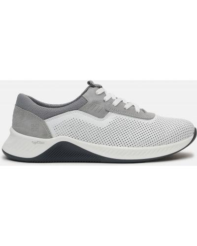 Деловые кроссовки - белые Konors