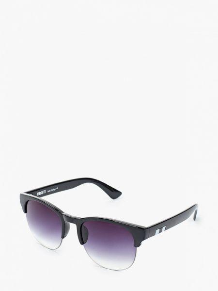 Солнцезащитные очки квадратные синий Fabretti
