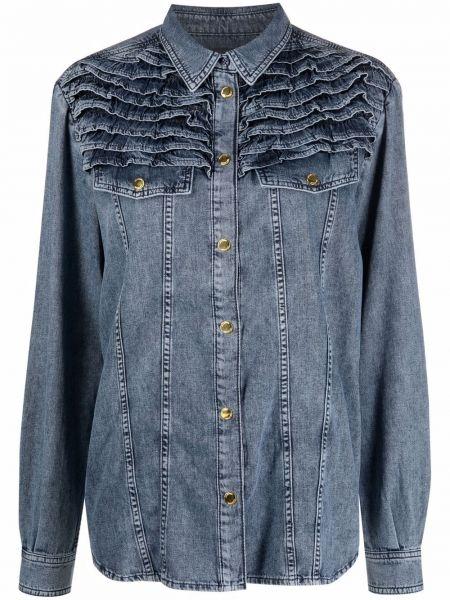 Koszula jeansowa - niebieska Love Moschino
