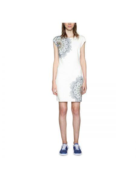Платье мини прямое со шлицей Desigual