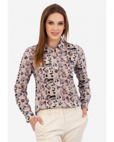 Блузка - розовая энсо