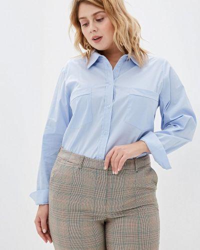С рукавами блузка авантюра Plus Size Fashion