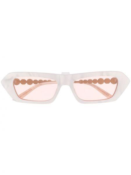 Okulary przeciwsłoneczne dla wzroku z perłami jasnoróżowy Gucci Eyewear