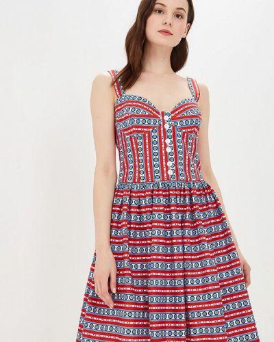 Платье платье-сарафан с открытыми плечами Galina Vasilyeva