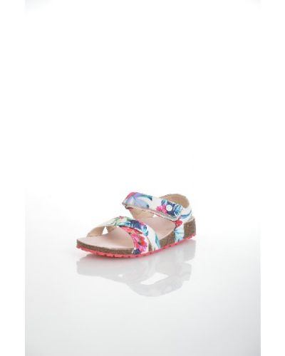 Босоножки на каблуке на танкетке резиновые Guess