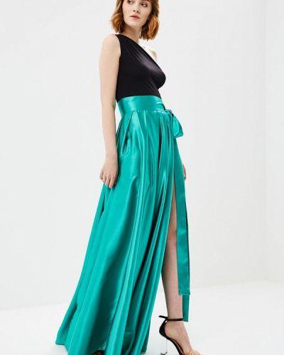 Платье весеннее зеленый Mirasezar