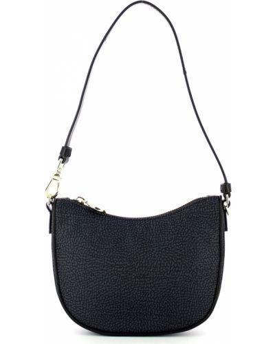 Czarna torba na ramię Borbonese