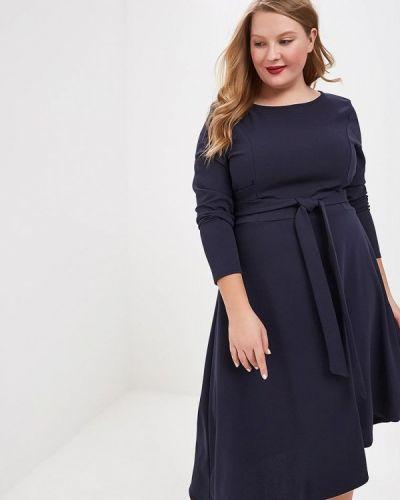 Повседневное платье весеннее синее Lost Ink Plus