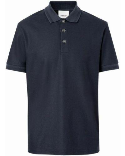 Koszulka - niebieska Burberry