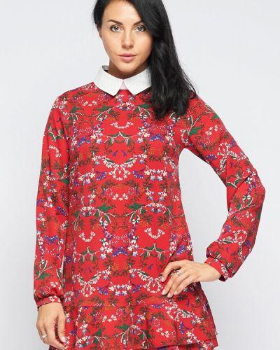 Платье красный осеннее Bellart белларт