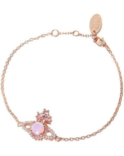 Różowa bransoletka Vivienne Westwood