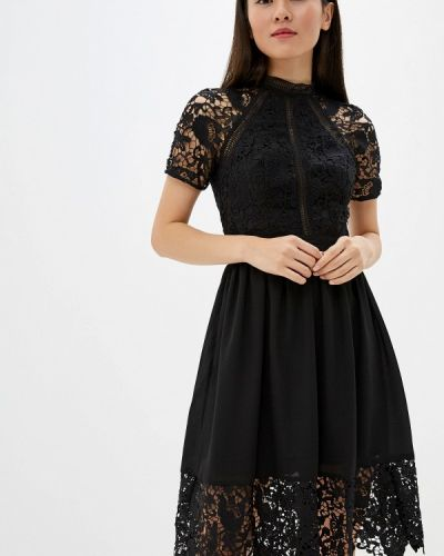 Вечернее платье осеннее Chi Chi London