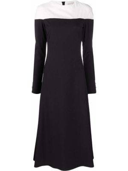 Платье миди на молнии прямое Lautre Chose