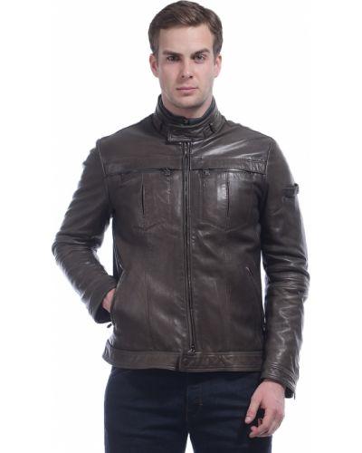 Коричневая куртка Peuterey