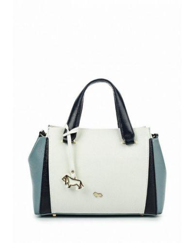 Кожаный сумка белый Labbra