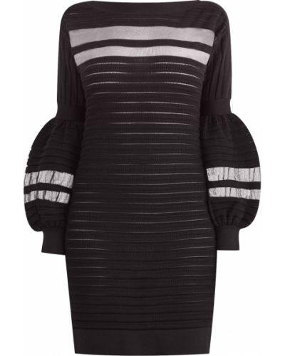 Вечернее платье мини с вырезом Emanuel Ungaro