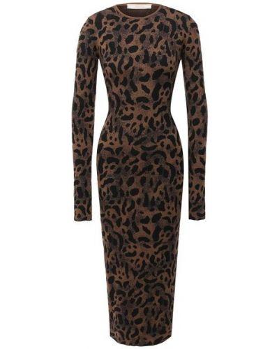 Шерстяное платье - коричневое Tak.ori