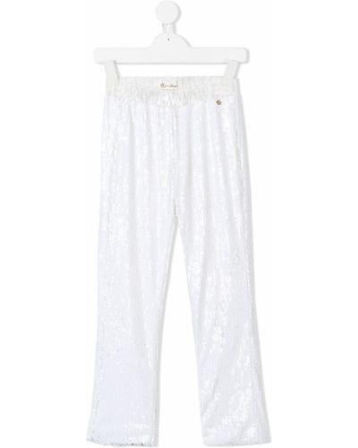 Белые брюки Le Mu