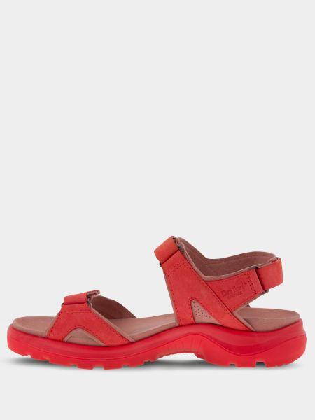 Сандалии с ремешками - красные Ecco