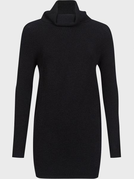 Черное платье из ангоры Kontatto