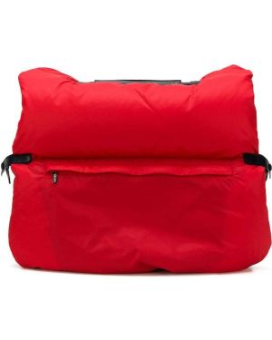 Маленькая сумка красная дутая Valextra