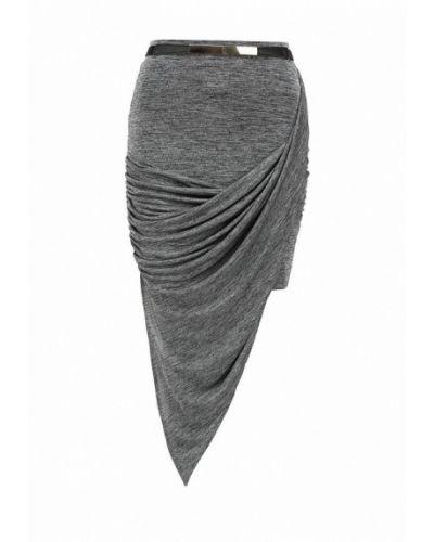 Серая юбка узкого кроя Lost Ink.