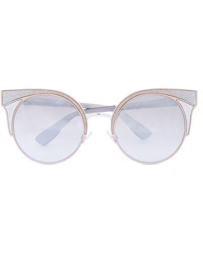 Солнцезащитные очки кошачий глаз с градиентом Jimmy Choo  (sunglasses)