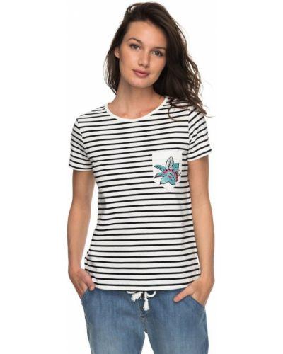 Черная футболка Roxy