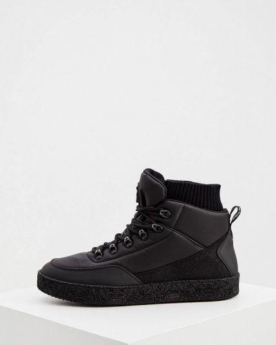 Черные кожаные ботинки Jog Dog
