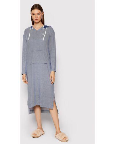 Piżama - niebieska Lauren Ralph Lauren