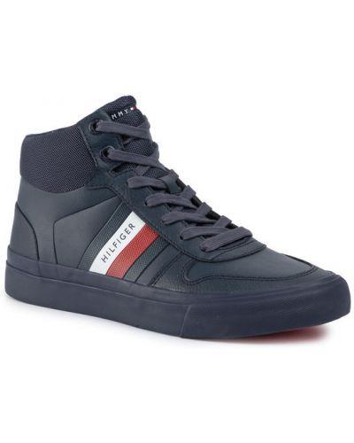 Sneakersy granatowe Tommy Hilfiger