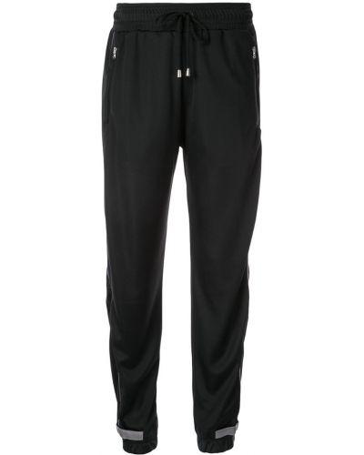 Черные брюки с завязками с поясом с манжетами Sàpopa