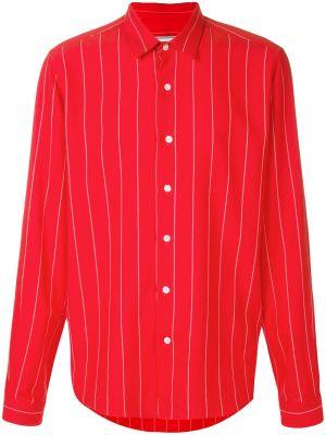 Koszula z długim rękawem klasyczny dżinsowa Ami Paris