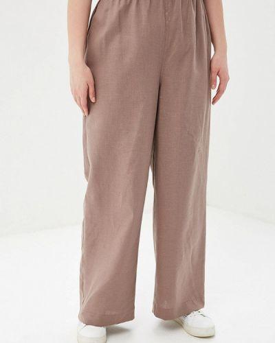 Свободные брюки расклешенные авантюра Plus Size Fashion